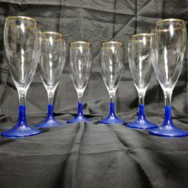 Bicchieri a Calice flute Bormioli set da 6 pezzi