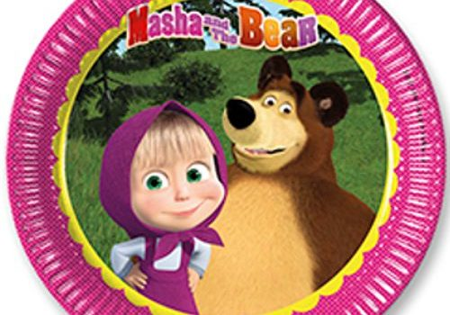 Kit Festa di Compleanno Masha e Orso L