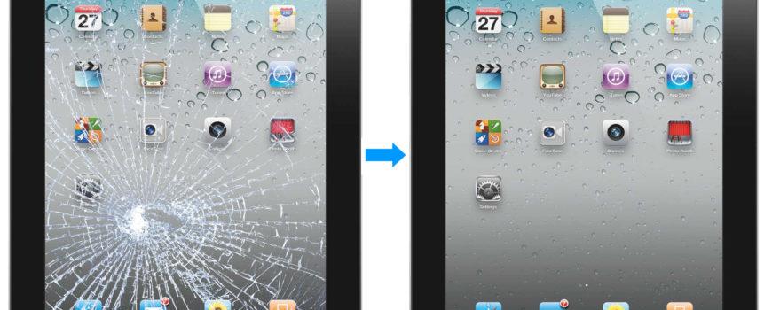 Sostituzione Touch Screen Apple Ipad a Roma