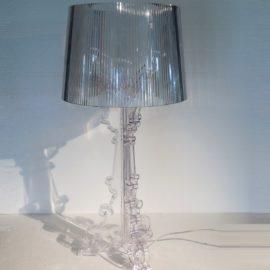 KARTELL LAMPADE DA TAVOLO BOURGIE VERSIONE TRASPARENTE CRISTALLO