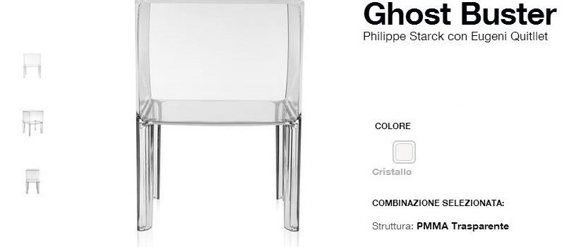 KARTELL COMODINI SMALL GHOST BUSTER